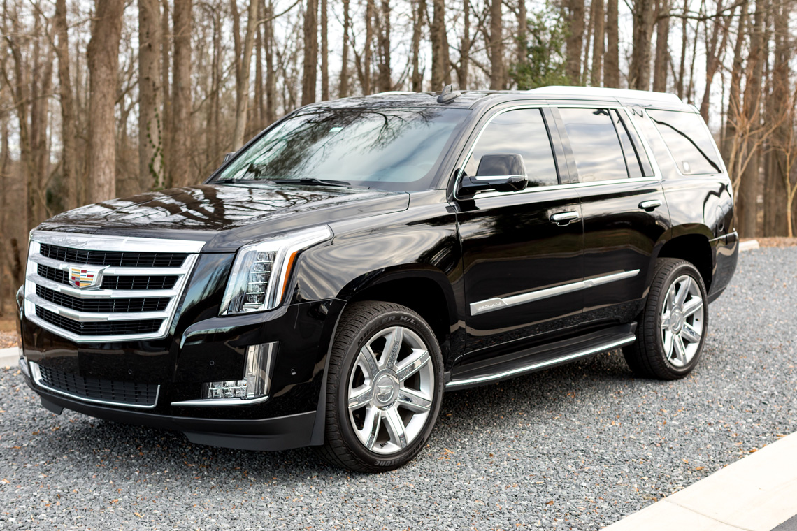 Escalade Black Car Service Rides in Fort Mill and Charlotte