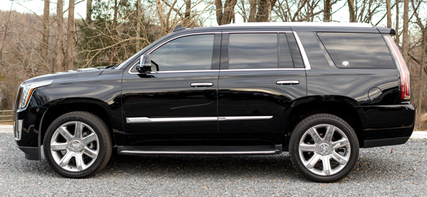 escalade for 24k Rides black car service in Fort Mill and Charlotte